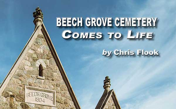 Get Your Copy of Beech Grove Cemetery Comes to Life!